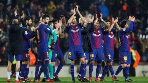 Barca lần thứ 25 lên ngôi giải vô địch quốc gia Tây Ban Nha
