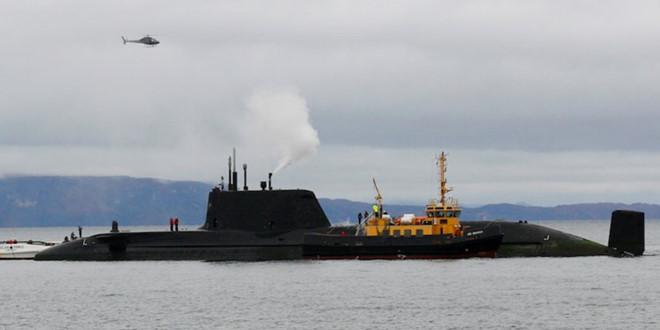 Anh tố bị Nga chặn tàu ngầm trước cuộc không kích Syria