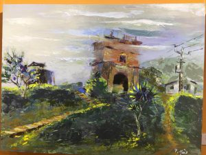 Triển lãm mỹ thuật với chủ đề 'Kết nối Hải Vân Quan'