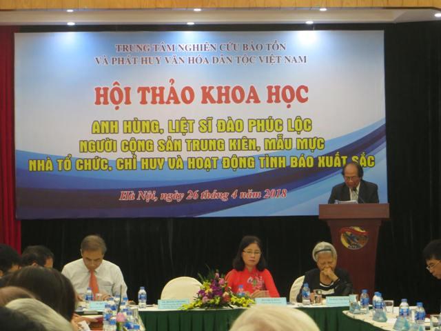 Hội thảo khoa học về Anh hùng Liệt sĩ Đào Phúc Lộc – Hoàng Minh Đạo