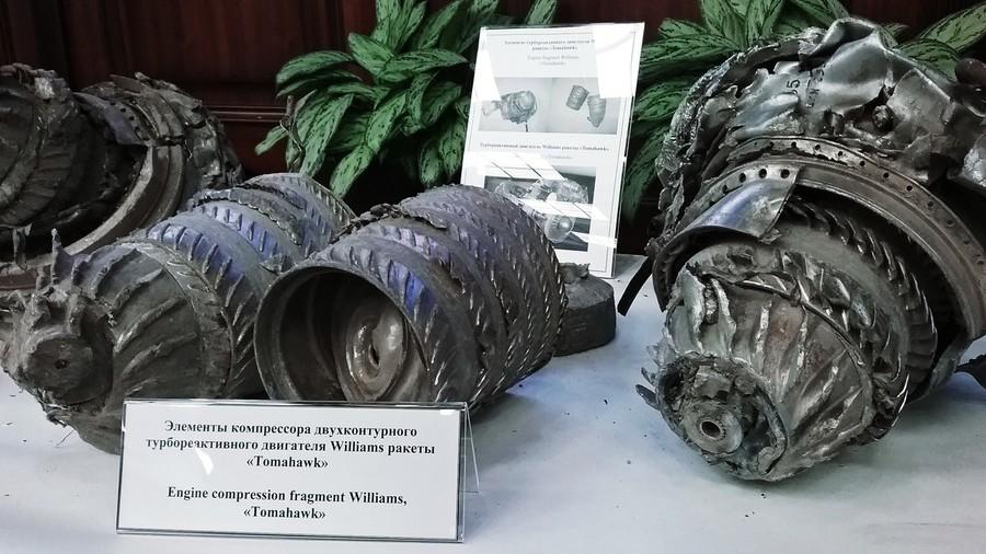 Nga trưng bày tàn tích tên lửa Mỹ phóng vào Syria