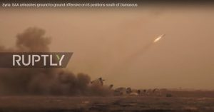 Quân đội Syria nã tên lửa Dolan-1000 đánh dập đầu IS tử thủ nam Damascus