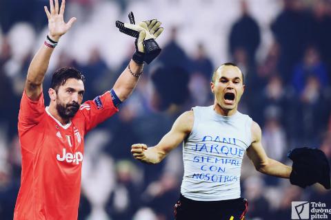 Buffon và Iniesta: Khi ánh hào quang dần tắt