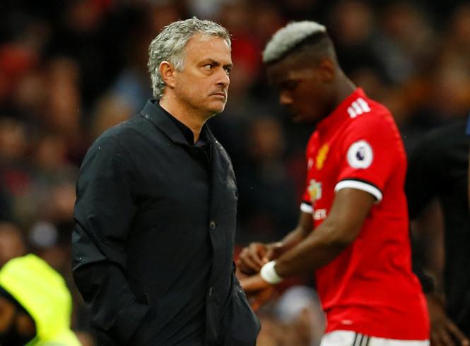 HLV Mourinho đã hết kiên nhẫn với Pogba