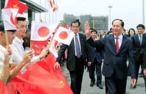 Chủ tịch nước Trần Đại Quang thăm tỉnh Gunmar của Nhật Bản
