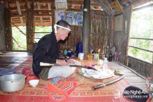 Những vật dụng kỳ bí và quyền uy của thầy mo người Thái ở Nghệ An