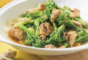 Cách làm bông cải xào thịt bò sốt gừng thơm ngon