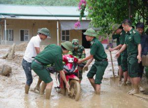 Lai Châu – căng sức khắc phục hậu quả thiên tai