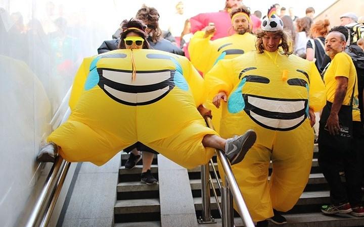 Những trang phục kỳ dị và hài hước của các cổ động viên World Cup 2018