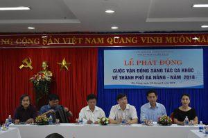 Lễ phát động Cuộc vận động sáng tác ca khúc về thành phố Đà Nẵng năm 2018