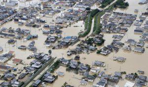 Nhật Bản: Ít nhất 81 người thiệt mạng, hơn 1,6 triệu người phải sơ tán do mưa lũ