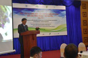Hội thảo quốc tế 'Bảo tồn đa dạng sinh học và phát triển bền vững khu vực Miền Trung – Tây Nguyên lần thứ I'