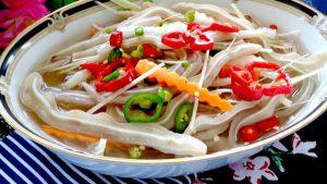 Những món ăn hấp dẫn được chế biến từ tai heo