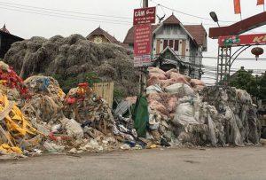 Cả làng thành tỷ phú nhờ … rác