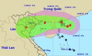 Khẩn cấp: Bão hình thành trên biển Đông