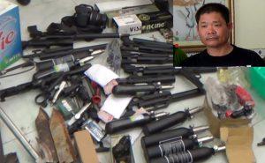 Tóm gọn thành viên tổ chức khủng bố Việt Tân mang vũ khí vào Việt Nam