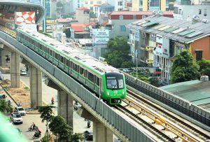 5 đoàn tàu tuyến Cát Linh – Hà Đông sẽ được chạy thử ngày 20/9