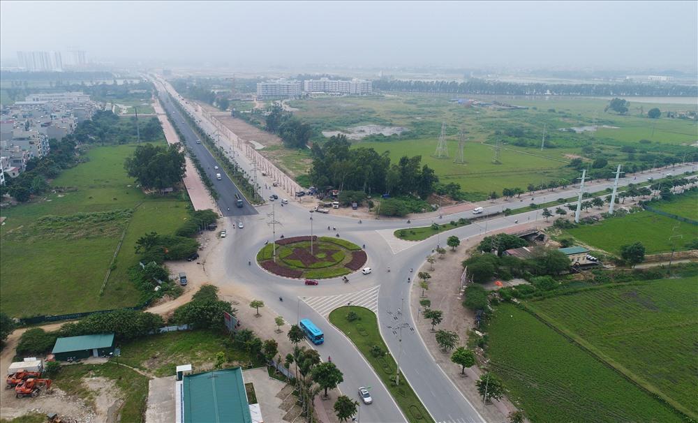 Toàn cảnh tuyến đường 5.000 tỷ nối bốn quận, huyện Hà Nội