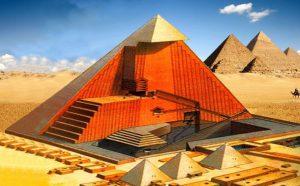 Lời giải về việc xây dựng kim tự tháp Ai Cập