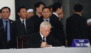 Live: Lễ viếng Chủ tịch nước Trần Đại Quang