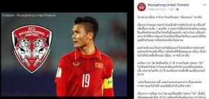 """2 """"ông lớn"""" giải Thai-League muốn có Quang Hải?"""