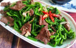 Khi nào không nên ăn rau muống?
