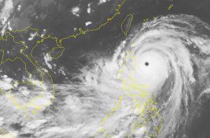 Chuẩn bị ứng phó với Mangkhut – siêu bão mạnh nhất thế giới