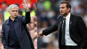 """Ngày """"trò cũ"""" Lampard đối đầu với Mourinho"""