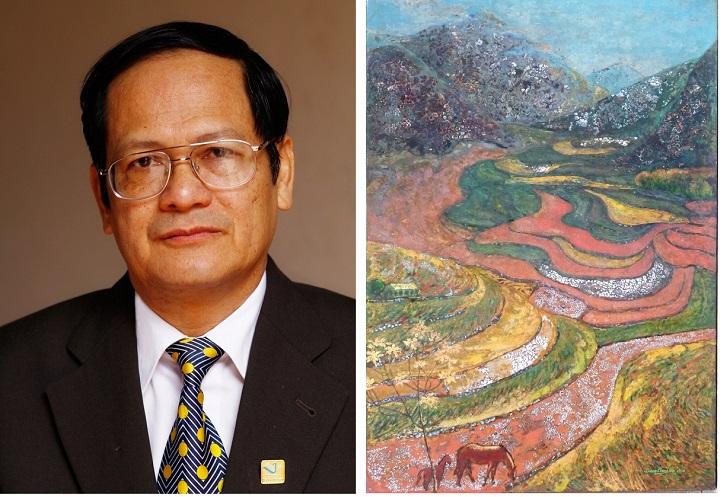 Đặng Khánh Hội – Nhà toán học vẽ tranh sơn mài
