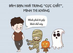 Điều ám ảnh nhất ngày Halloween: Ở nhà vì ế quá không ai rủ đi chơi