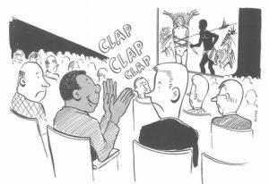 Biếm họa: Cuộc sống người da đen làm việc ở văn phòng toàn người da trắng những năm 1960