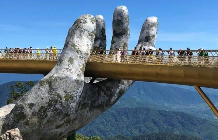 Nước Anh xây dựng cầu dựa trên ý tưởng cây Cầu Vàng Đà Nẵng