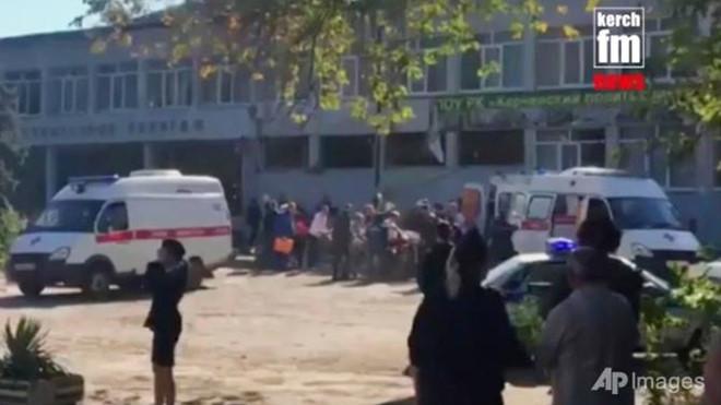 Crimea: Đánh bom khủng bố tại trường học khiến 18 người chết