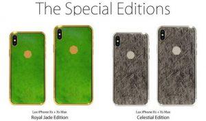 iPhone XS làm bằng đá ngoài hành tinh, giá 3 triệu đô