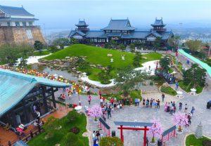 Khám phá xứ sở Phù Tang ngay giữa lòng Hạ Long.