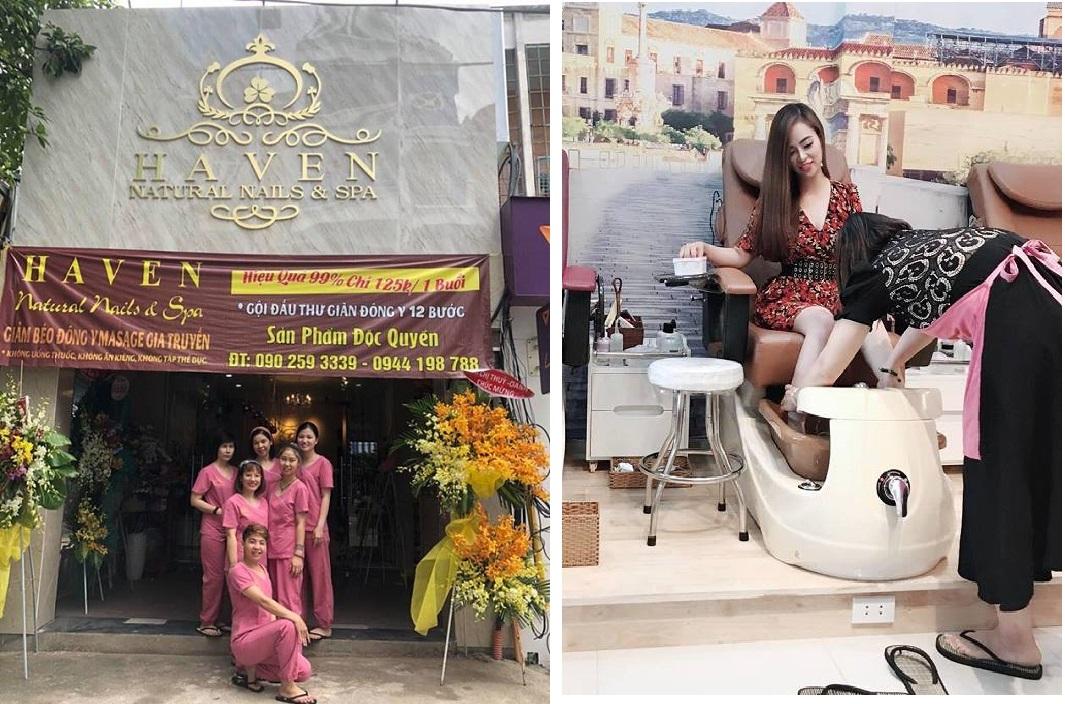 Haven Natural Nail & Spa điểm làm đẹp sang trọng, đẳng cấp cho giới trẻ tại  TP.Hồ Chí Minh