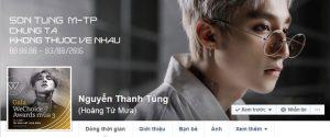 Trang cá nhân Sơn Tùng M-TP bị Facebook vô hiệu hóa?