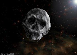 """""""Thiên thạch đầu lâu"""" sắp """"ghé thăm"""" Trái Đất"""