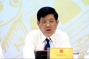 """Bộ Công an: Việc """"bảo kê"""" chợ Long Biên là không chấp nhận được"""