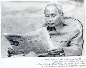 Nhớ bài báo cuối cùng của Phạm Văn Đồng