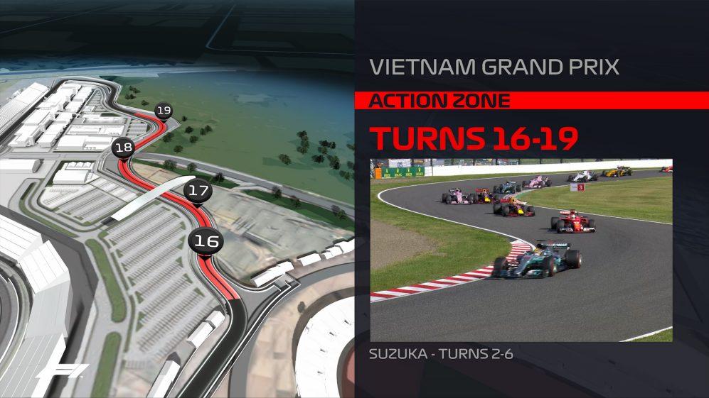Tất tần tần về thiết kế đường đua F1 Mỹ Đình