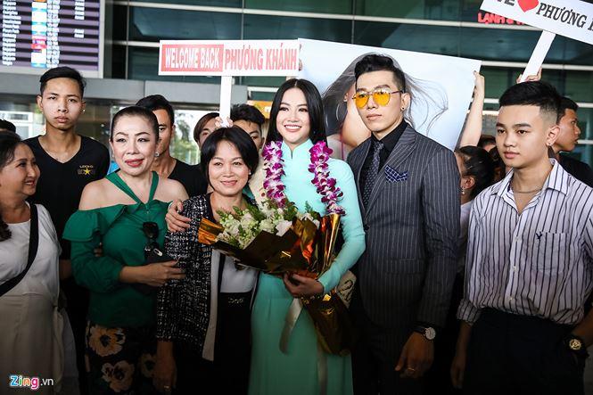 Hoa hậu trái đất  2018 Phương Khánh 'vinh quy bái tổ'