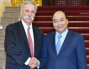 Thủ tướng hoan nghênh sự hợp tác giữa Hà Nội và Formula One -F1