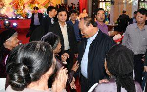 Thủ tướng Nguyễn Xuân Phúc dự Ngày hội Đoàn kết toàn dân tộc