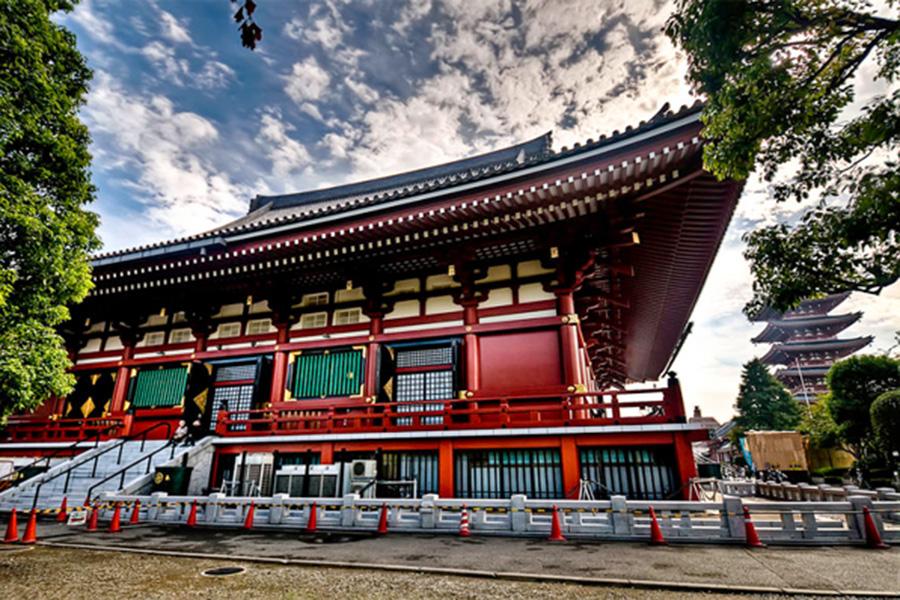 Khám phá ngôi chùa Sensoji gần 1.400 tuổi tại Nhật Bản