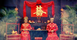 Nghi lễ trong đám cưới truyền thống Trung Hoa: Tam thư, Lục lễ