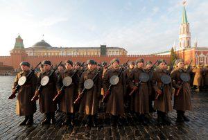 Nga tái hiện cuộc duyệt binh lịch sử 1941 huyền thoại