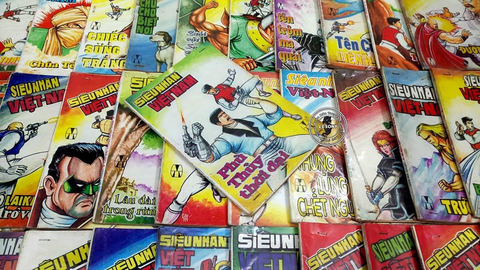 """Ngoài """"Dũng sĩ Hesman"""", họa sĩ Hùng Lân còn những bộ truyện đình đám nào?"""