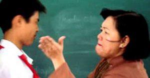 Lỡ nói tục, cô giáo phạt bằng 231 cái tát khiến học sinh nhập viện