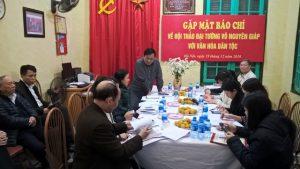 Hội thảo khoa học 'Đại tướng Võ Nguyên Giáp với văn hoá dân tộc'